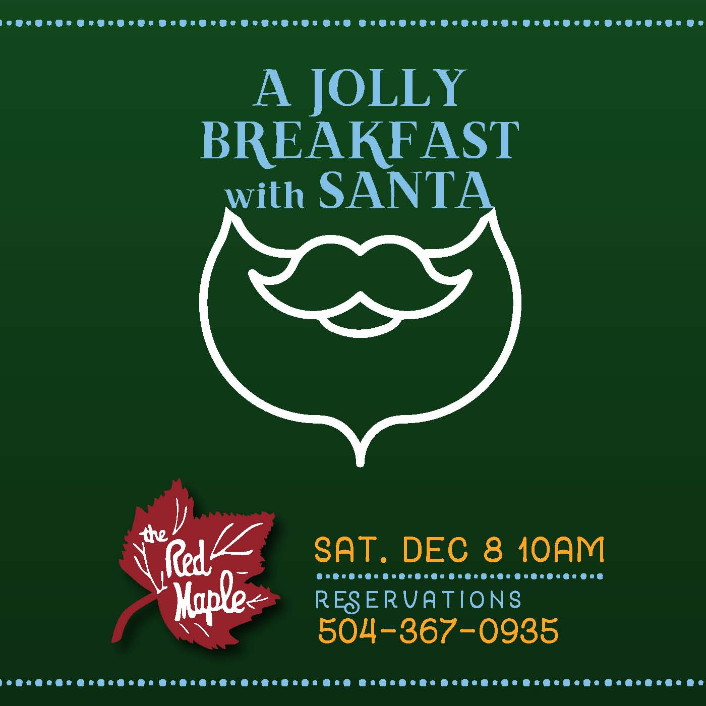 Breakfast with Santa at The Red Maple