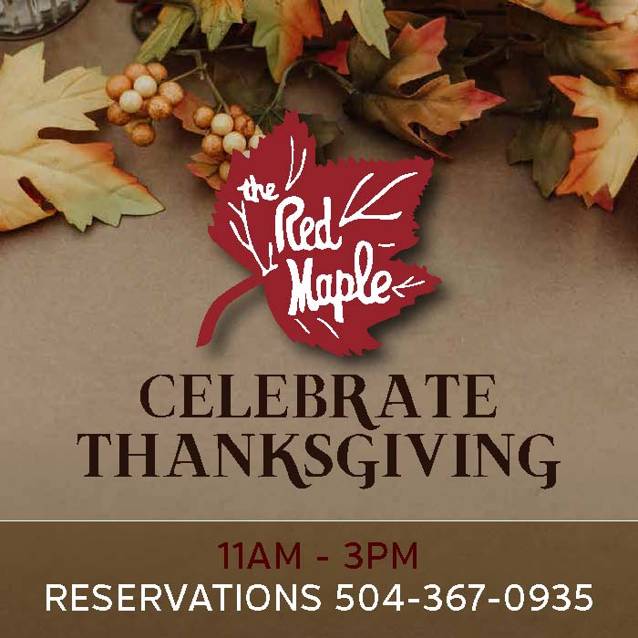 Thanksgiving at The Red Maple